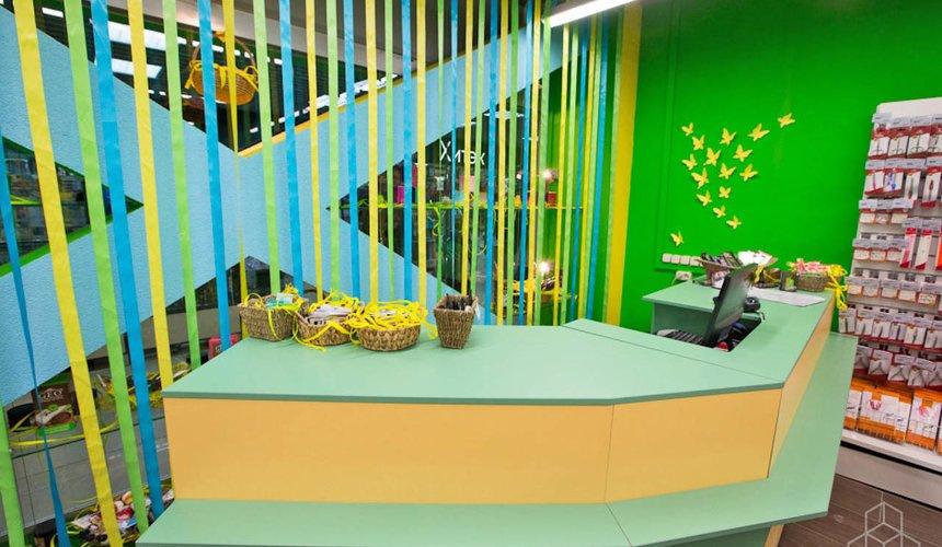 Дизайн интерьера магазина косметики и парфюмерии в ТЦ КИТ 7