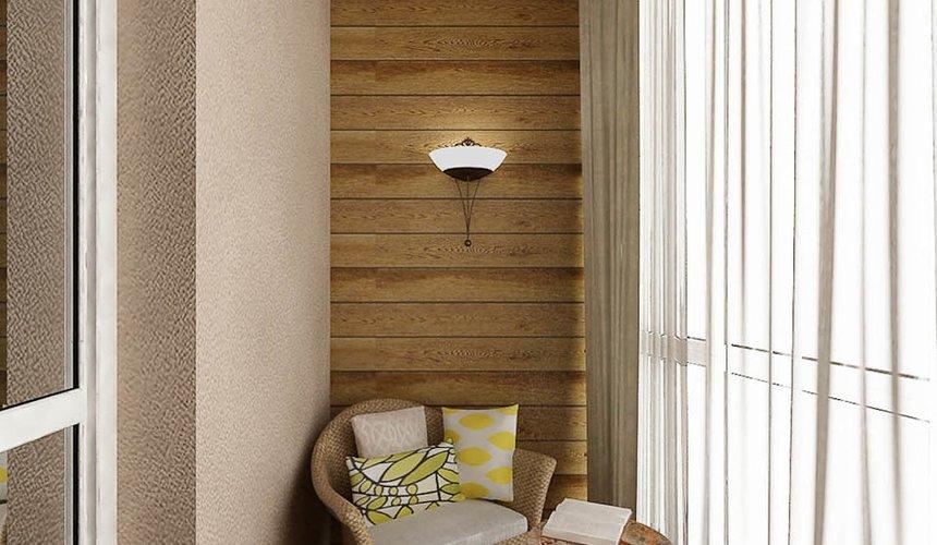 Дизайн интерьера двухкомнатной квартиры по ул. Мельникова 38 11