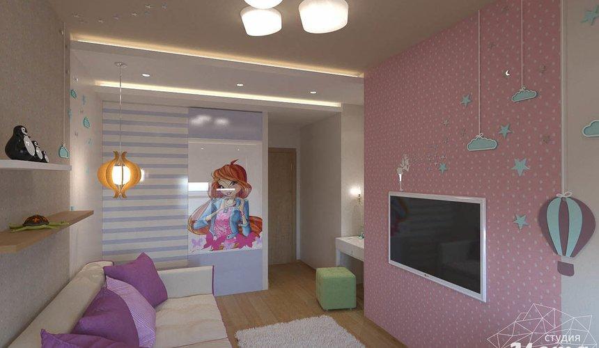 Дизайн интерьера трехкомнатной квартиры по ул. Мельникова 27 7