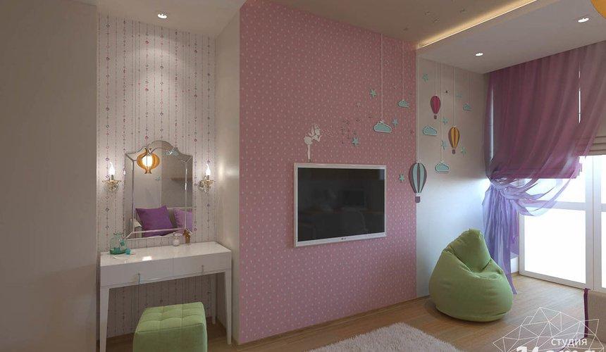 Дизайн интерьера трехкомнатной квартиры по ул. Мельникова 27 8
