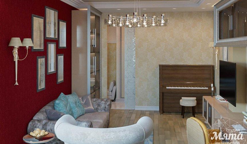 Дизайн интерьера и ремонт трехкомнатной квартиры в Карасьозерском 2 45