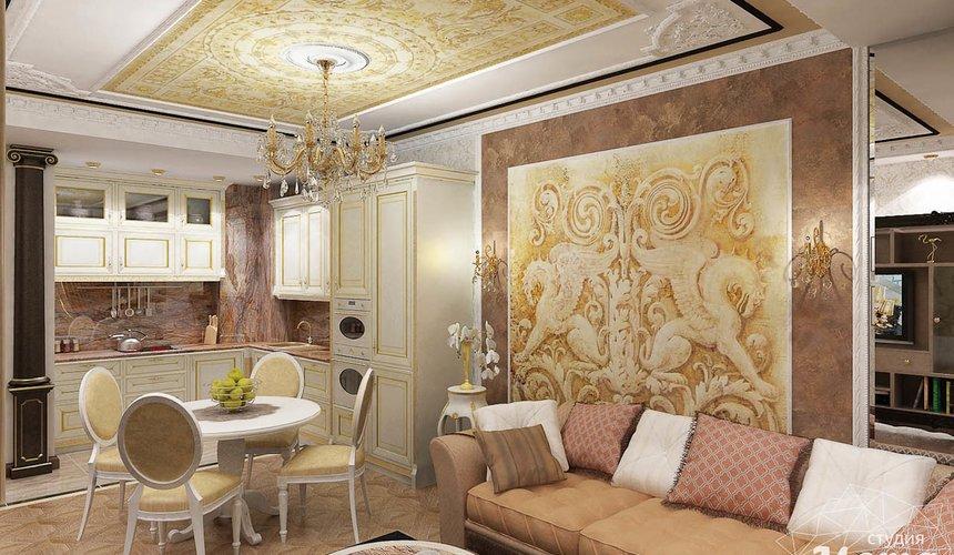 Дизайн интерьера двухкомнатной квартиры по ул. Мельникова 38 4