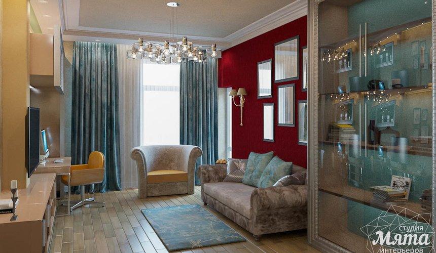 Дизайн интерьера и ремонт трехкомнатной квартиры в Карасьозерском 2 41