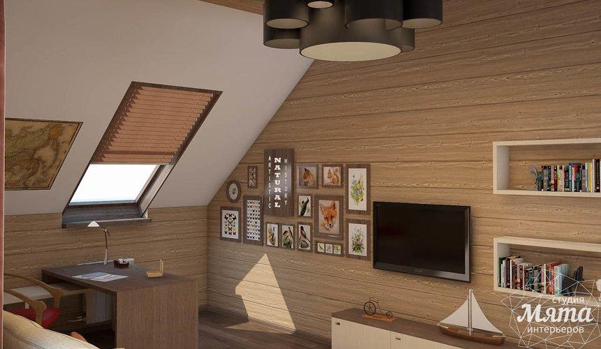 Дизайн интерьера коттеджа в п. Галактика  26