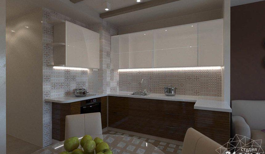 Дизайн интерьера трехкомнатной квартиры по ул. Мельникова 27 4