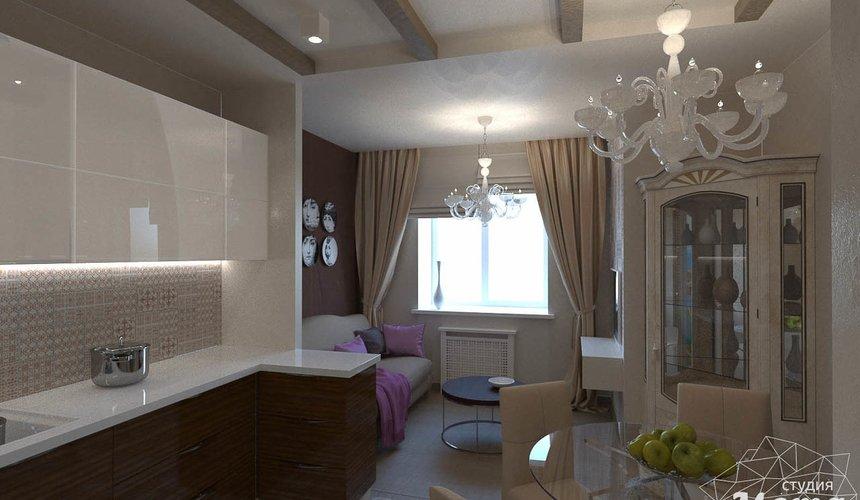 Дизайн интерьера трехкомнатной квартиры по ул. Мельникова 27 5