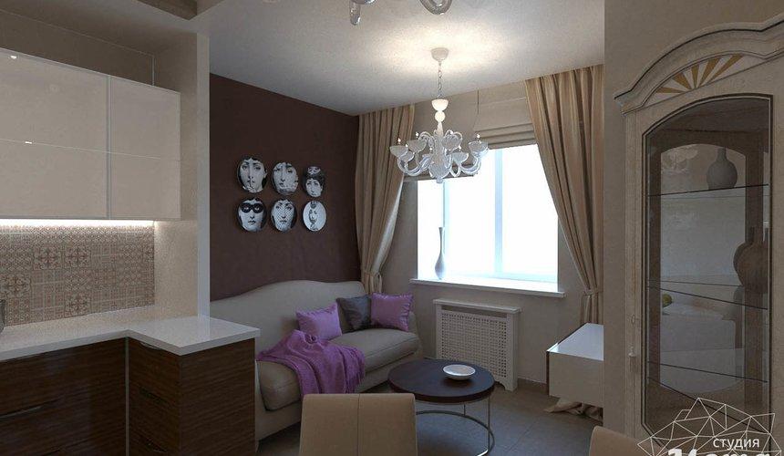 Дизайн интерьера трехкомнатной квартиры по ул. Мельникова 27 6