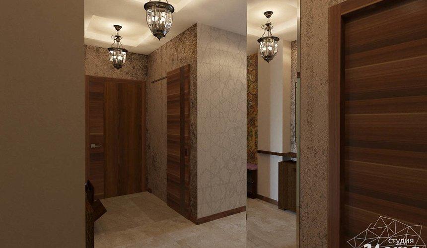 Дизайн интерьера трехкомнатной квартиры по ул. Мельникова 27 19