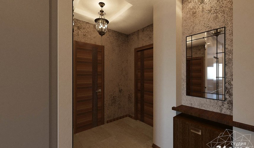 Дизайн интерьера трехкомнатной квартиры по ул. Мельникова 27 20