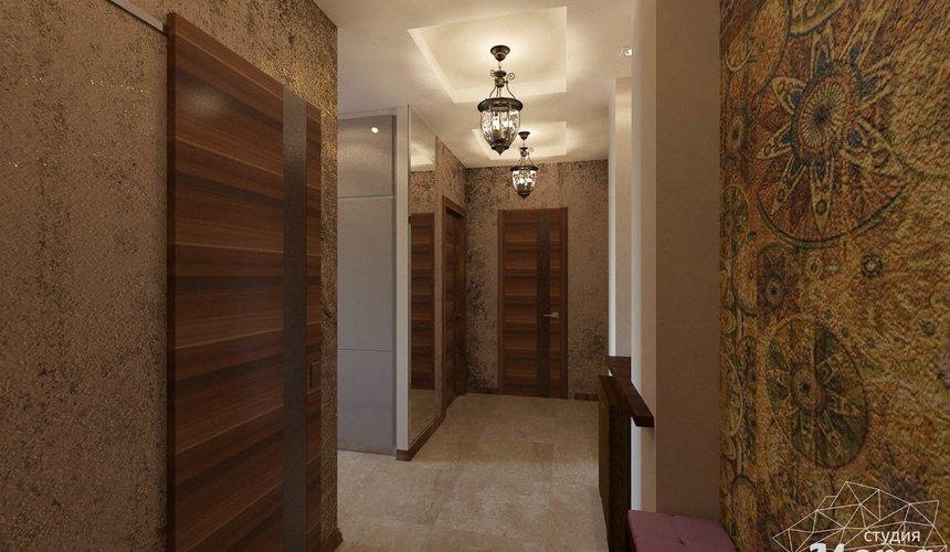 Дизайн интерьера трехкомнатной квартиры по ул. Мельникова 27 21