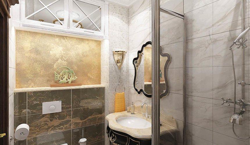 Дизайн интерьера двухкомнатной квартиры по ул. Мельникова 38 14