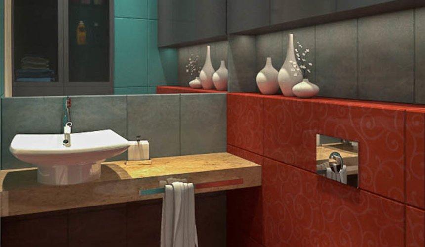 Дизайн интерьера и ремонт трехкомнатной квартиры в Карасьозерском 2 62