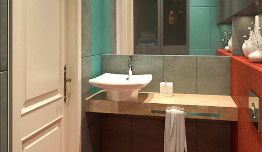 Дизайн интерьера и ремонт трехкомнатной квартиры в Карасьозерском 2 63