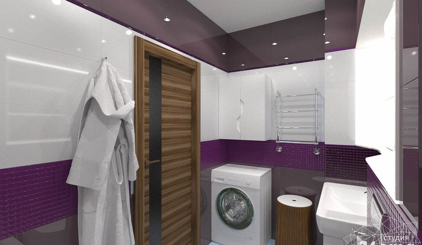 Дизайн интерьера трехкомнатной квартиры по ул. Мельникова 27 14