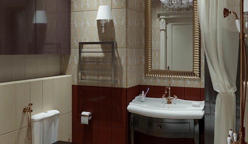 Дизайн интерьера и ремонт трехкомнатной квартиры в Карасьозерском 2 52