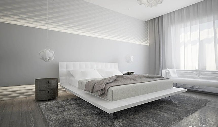 Дизайн интерьера трехкомнатной квартиры в Антаресе 2 8
