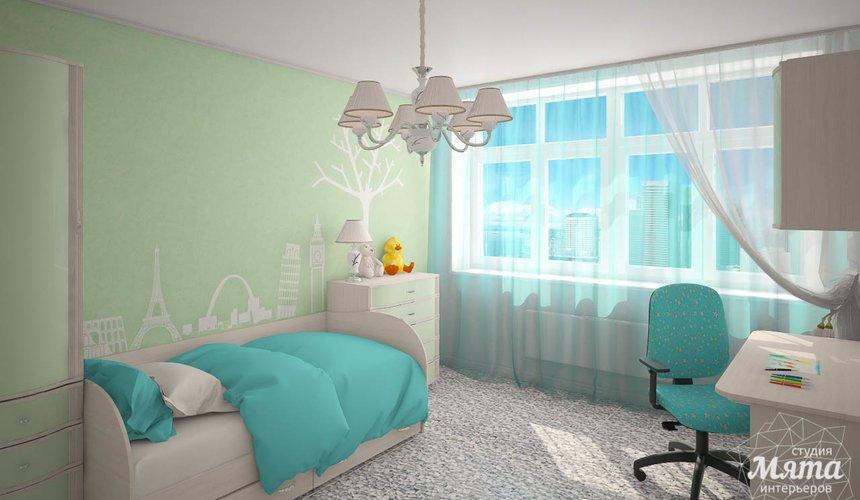 Дизайн интерьера  и ремонт трехкомнатной квартиры по ул. Машинная 44 51