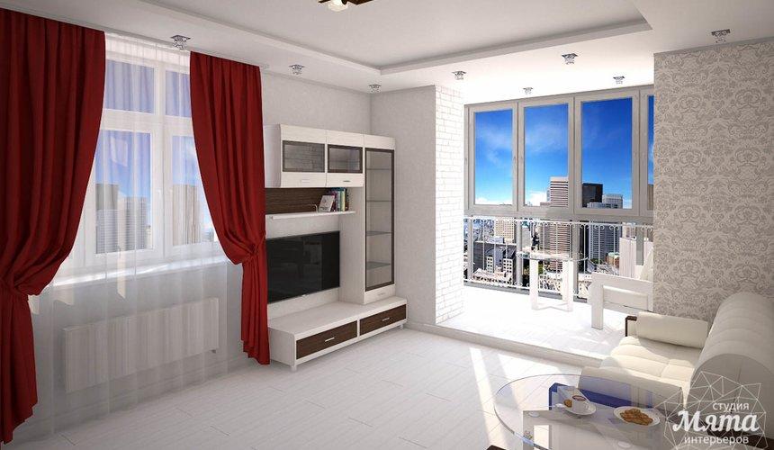 Дизайн интерьера  и ремонт трехкомнатной квартиры по ул. Машинная 44 39