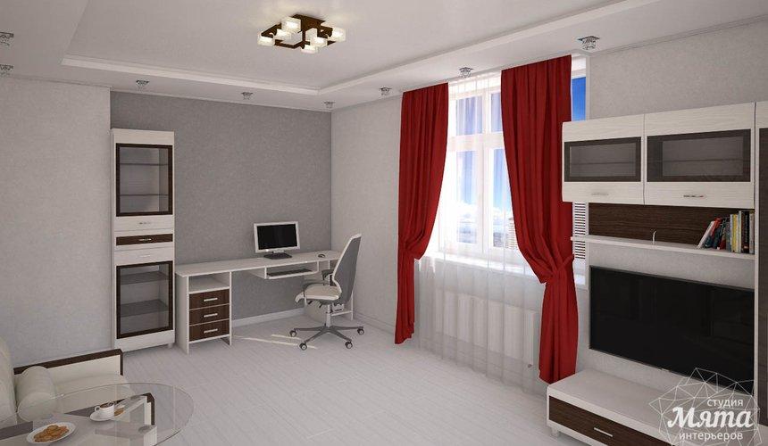 Дизайн интерьера  и ремонт трехкомнатной квартиры по ул. Машинная 44 40