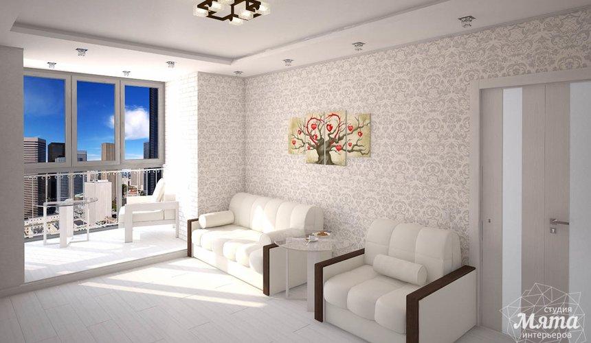 Дизайн интерьера  и ремонт трехкомнатной квартиры по ул. Машинная 44 43