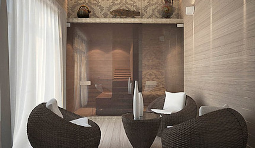 Дизайн интерьера трехкомнатной квартиры в Тихвине 11