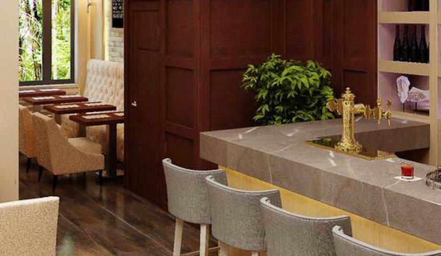 Дизайн интерьера кафе по ул. Малышева 12 6