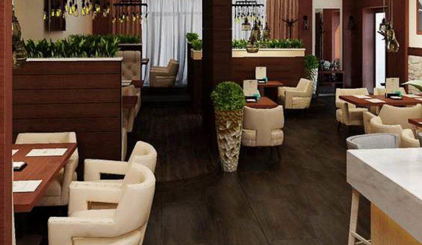 Дизайн интерьера кафе по ул. Малышева 12 9