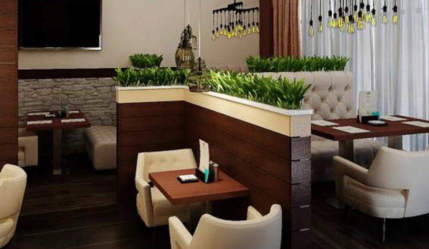 Дизайн интерьера кафе по ул. Малышева 12 11