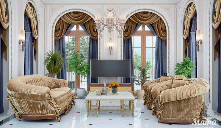 Дизайн интерьера коттеджа классическом стиле в Карасьозерске 14