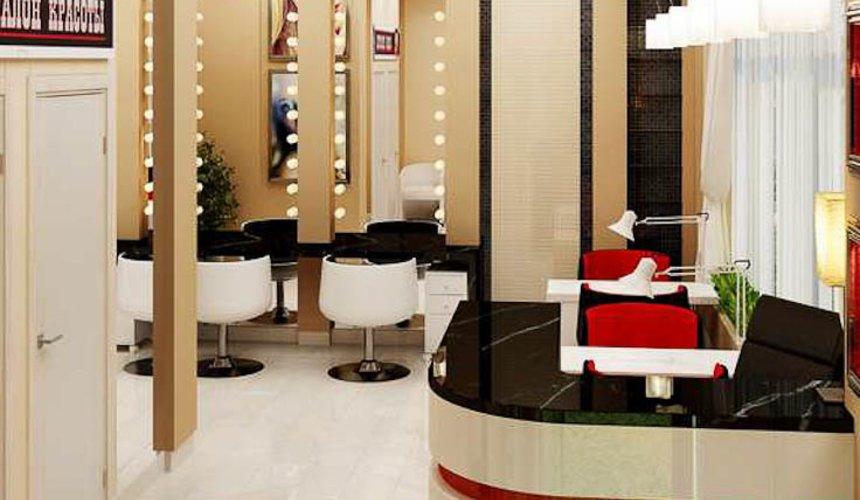 Дизайн интерьера парикмахерской по ул. Рябинина 19 4