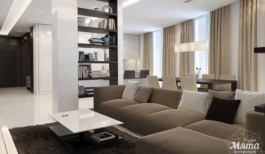 Дизайн интерьера трехкомнатной квартиры по ул. Белинского 86 5