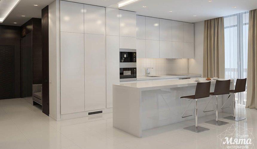 Дизайн интерьера трехкомнатной квартиры по ул. Белинского 86 7