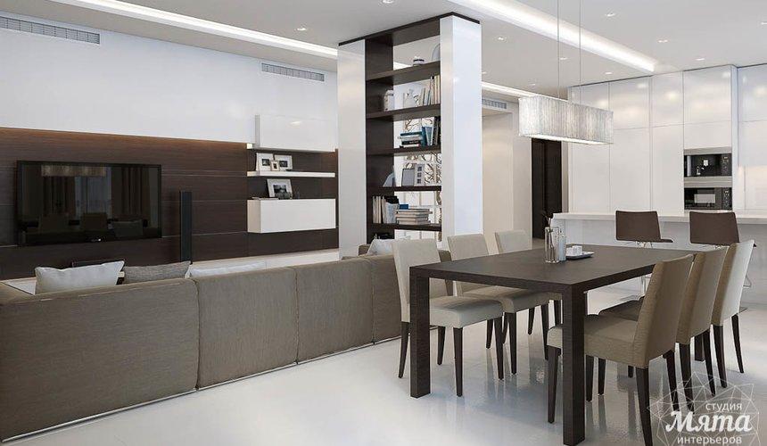 Дизайн интерьера трехкомнатной квартиры по ул. Белинского 86 8
