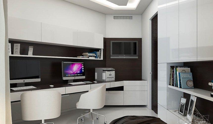 Дизайн интерьера трехкомнатной квартиры по ул. Белинского 86 12