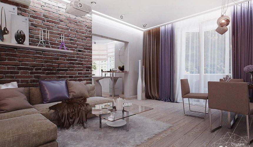 Дизайн интерьера двухкомнатной квартиры по ул. Малышева 38 3