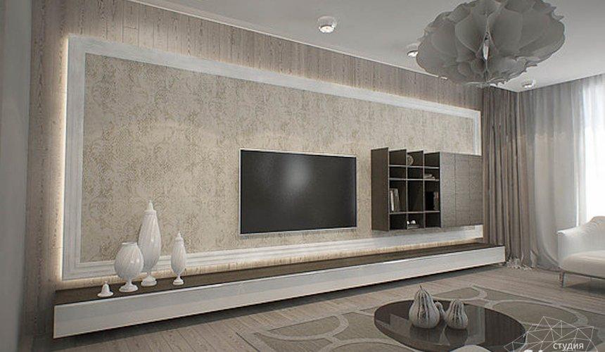 Дизайн интерьера трехкомнатной квартиры в Тихвине 2 3