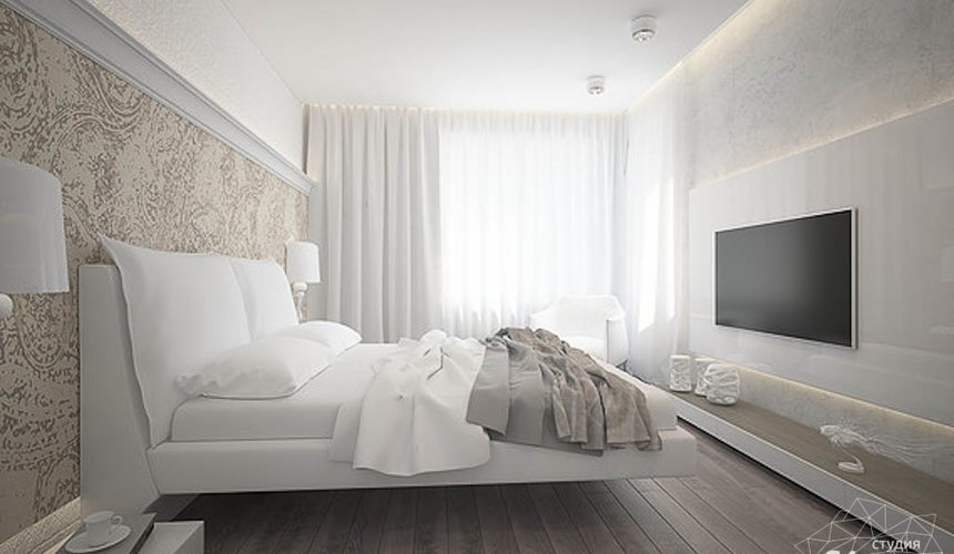 Дизайн интерьера трехкомнатной квартиры в Тихвине 2 15