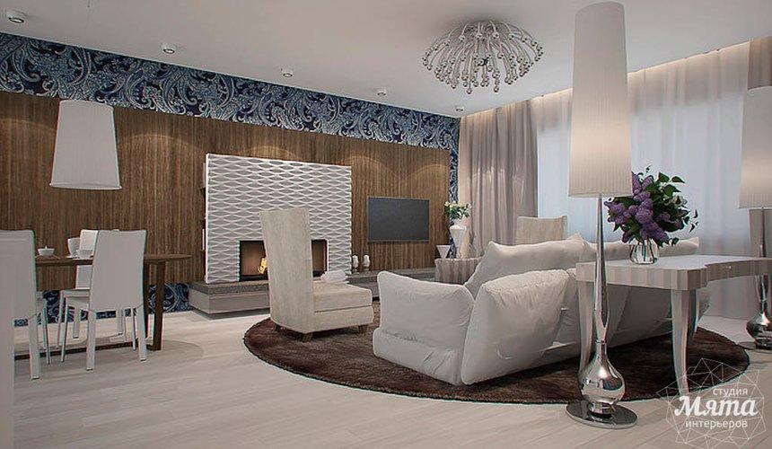 Дизайн интерьера трехкомнатной квартиры в Антаресе  3