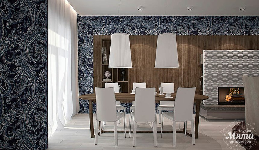 Дизайн интерьера трехкомнатной квартиры в Антаресе  7