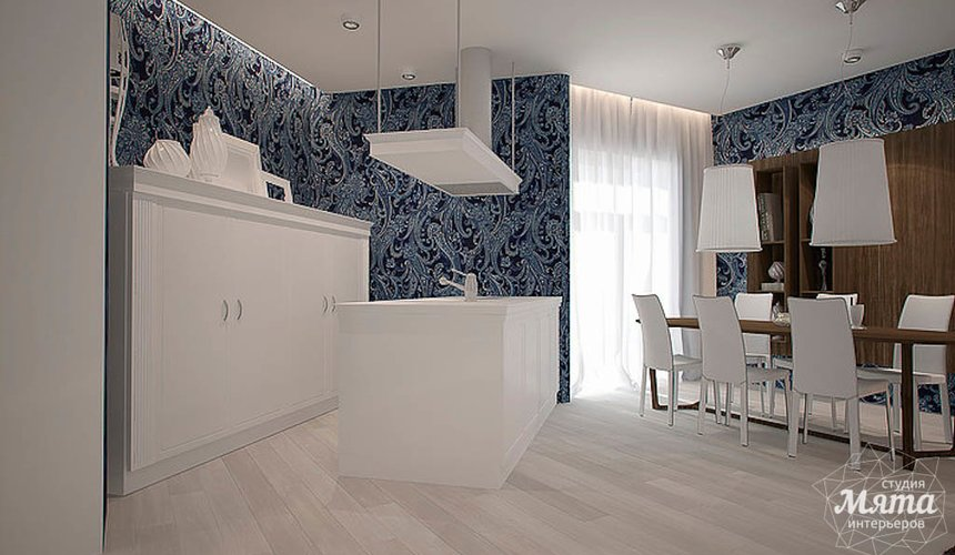 Дизайн интерьера трехкомнатной квартиры в Антаресе  9