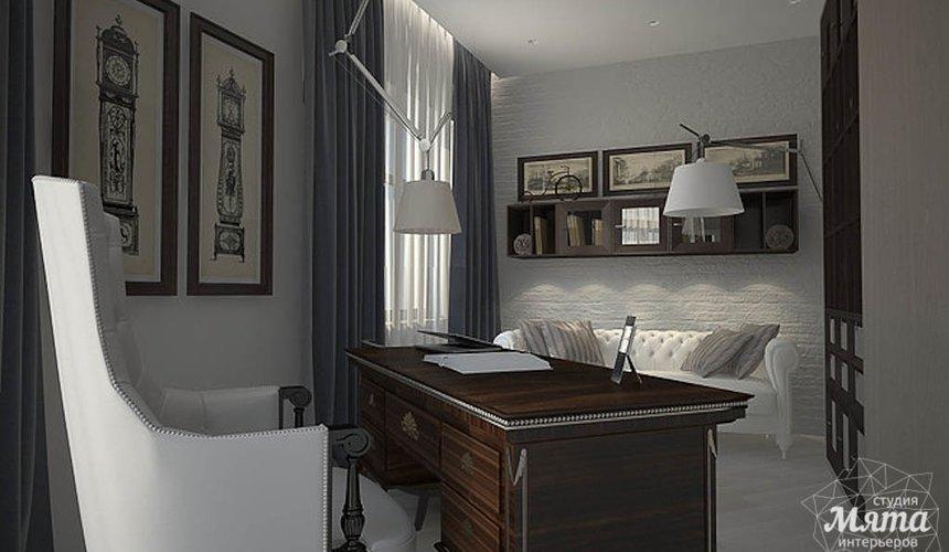 Дизайн интерьера трехкомнатной квартиры в Антаресе  14