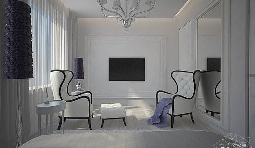Дизайн интерьера трехкомнатной квартиры в Антаресе  16