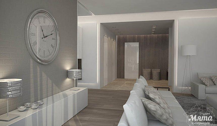 Дизайн интерьера трехкомнатной квартиры в Антаресе 2 6