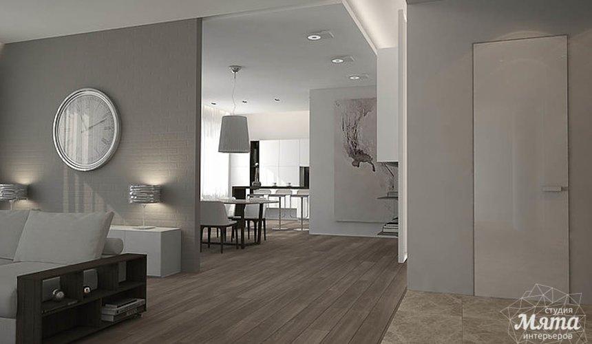 Дизайн интерьера трехкомнатной квартиры в Антаресе 2 7