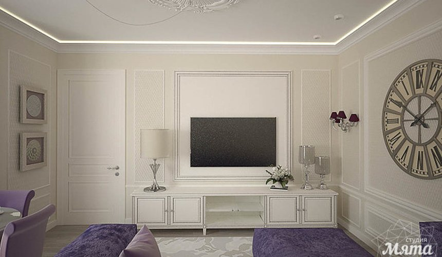 Дизайн интерьера двухкомнатной квартиры по ул. А. Валека 12 6