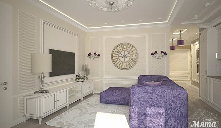 Дизайн интерьера двухкомнатной квартиры по ул. А. Валека 12 7