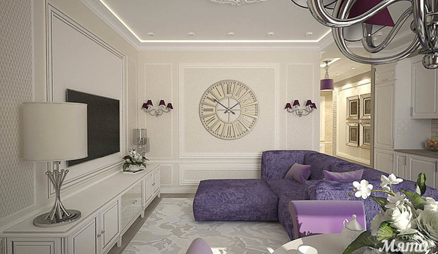 Дизайн интерьера двухкомнатной квартиры по ул. А. Валека 12 5