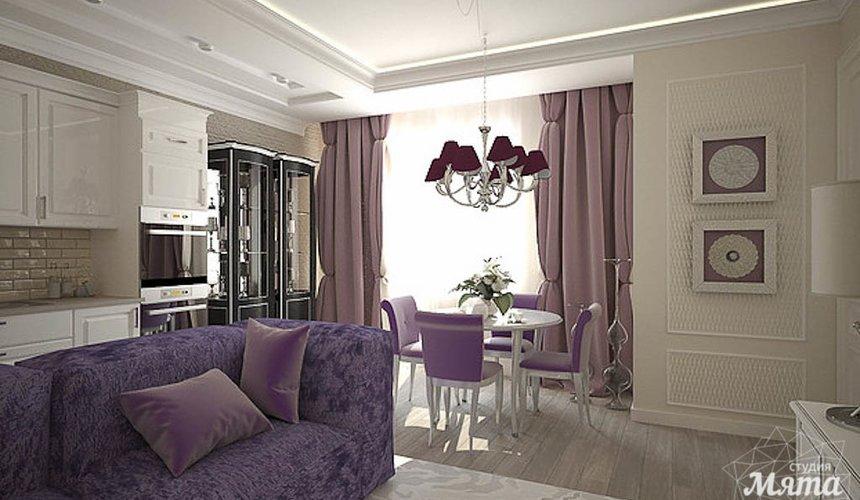 Дизайн интерьера двухкомнатной квартиры по ул. А. Валека 12 3