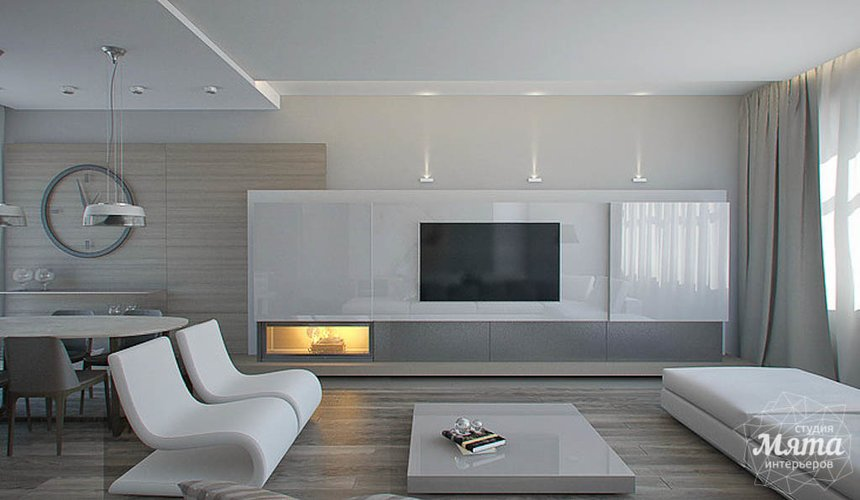 Дизайн интерьера двухкомнатной квартиры по ул. Жукова 14 3