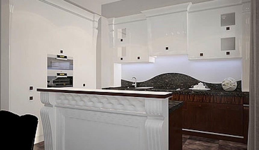 Дизайн интерьера трехкомнатной квартиры в Тихвине 5